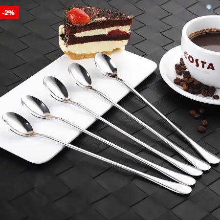 Top 50 Coffee Making Items: Long-handled Coffee Spoon