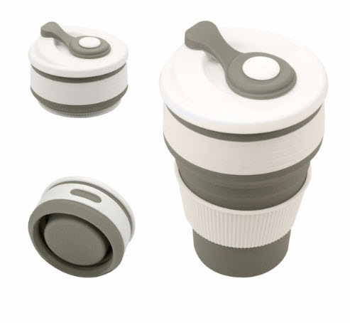 Collapsible Travel Coffee Mug