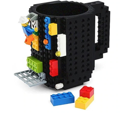 Top 50 Coffee Making Items: Building Blocks Mug