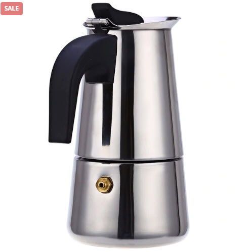 Top 50 Coffee Making Items: Stainless Steel Coffee Drip